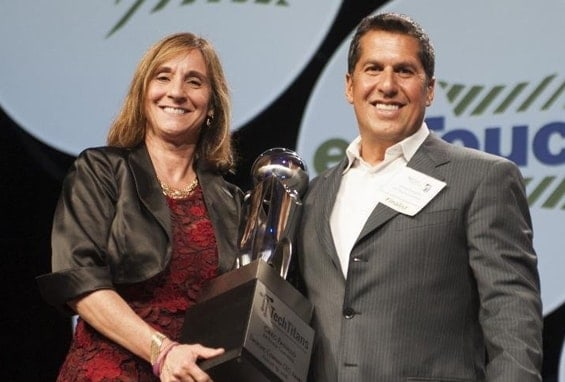 Greg Fasullo of ENTOUCH wins Tech Titan Award